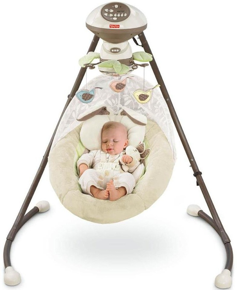 Fisher Price Baby Cradle N Swing Baby Cinema