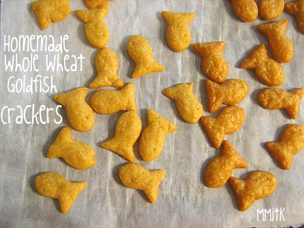 Meet Me in the Kitchen: Cooking School- Whole Wheat Goldfish Crackers