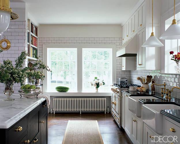 Die-Wohngalerie: Landhausküche in Schwarz-Weiß - kein verstaubter ...