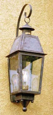outdoor gas lamps