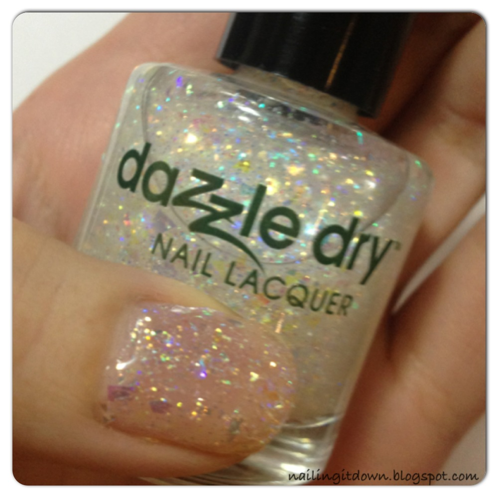 Nailing It Down!: Dazzle Dry Glitters Xtreme: Cold as Ice