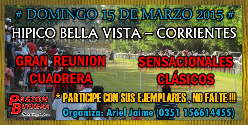 BELLA VISTA - 15 DE MARZO