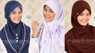 Model fashion hijab rabbani anak umur 10 tahun keatas