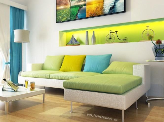 3 desain ruang tamu putih tips rumah interior desain