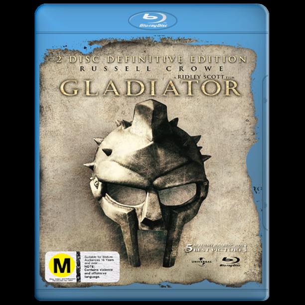 Gladiator Blu-ray Dvd