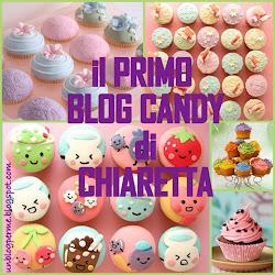 Il primo blog candy di Chiaretta