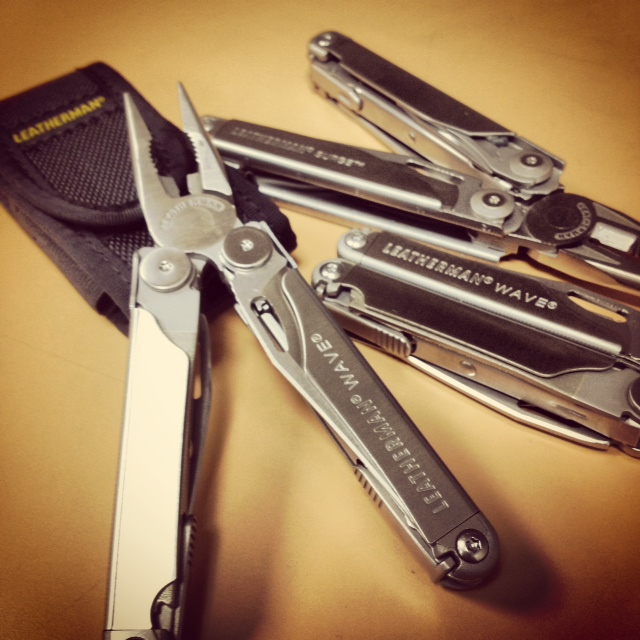 JUST GOT MY NEW LEATHERMAN WAVE FROM USA REI