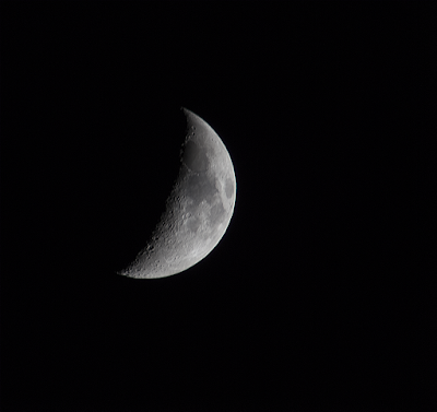 observe the moon night