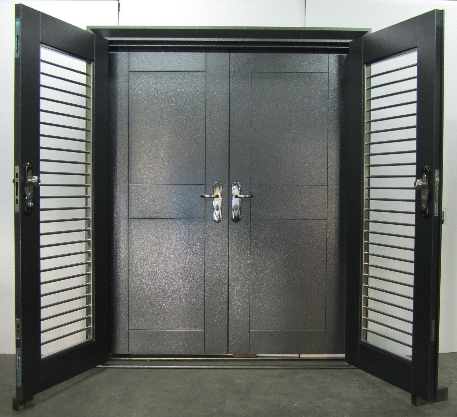 Shinjin heritage lifestyle quality steel security doors for Quality doors
