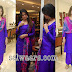 Anjana Sukhani in Purple Salwar Kameez