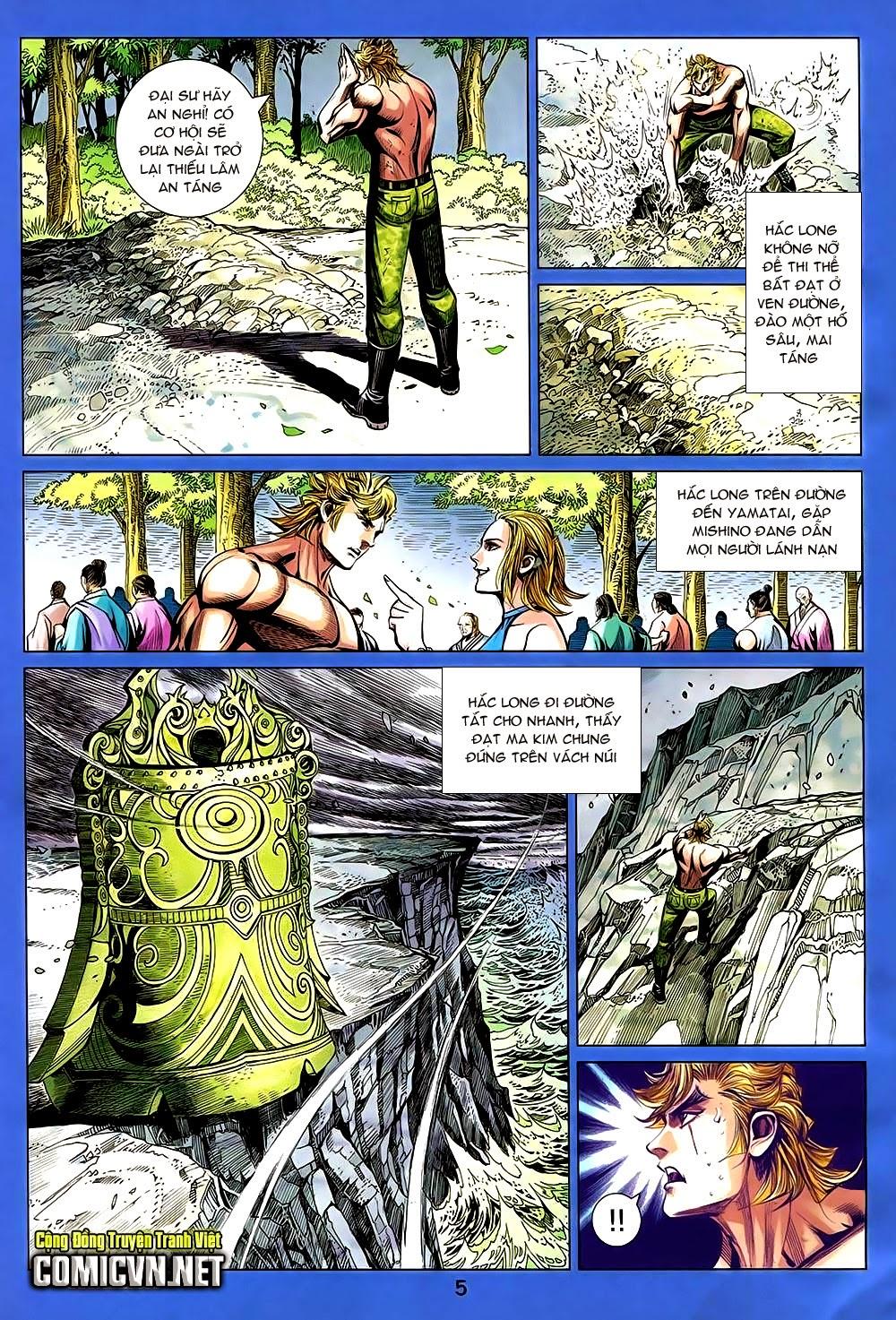 Thạch Hắc Long Truyện Chap 90 - Trang 5