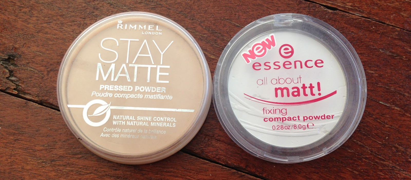Born To Buy Compare The Pair Essence All About Matt And Rimmel London Stay Matte Pressed Powder Fixing Compact