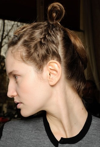 trenzas peinados recogidos 2013