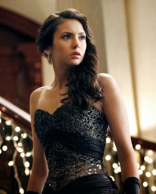 The Stunning Elina Gilbert In Amazing Black - The Vampire Diaries