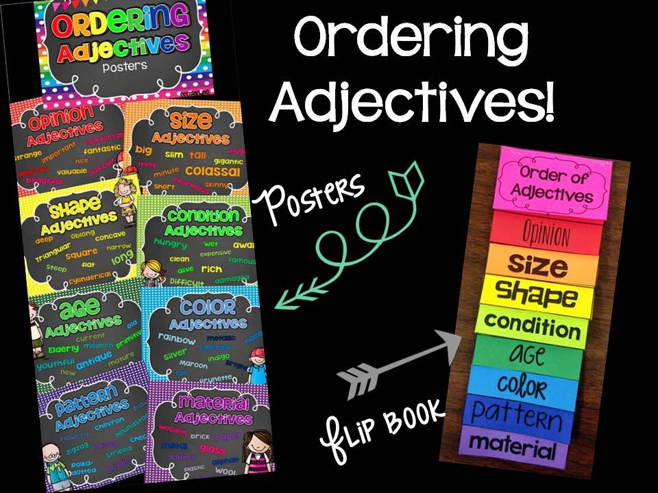 order of adjectives notes pdf