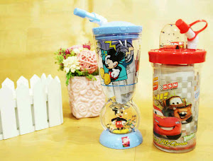 Botol minum cartoon