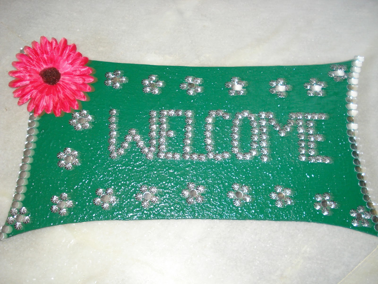 Indian Handmade Items Name Plate