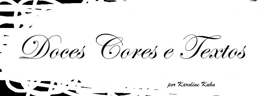 Doces Cores e Textos
