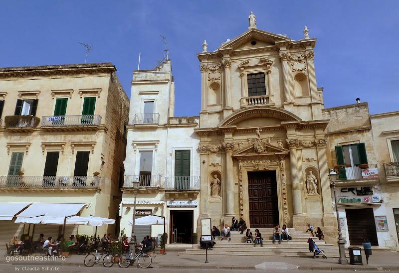 Die Kirche Santa Maria della Grazia in Lecce