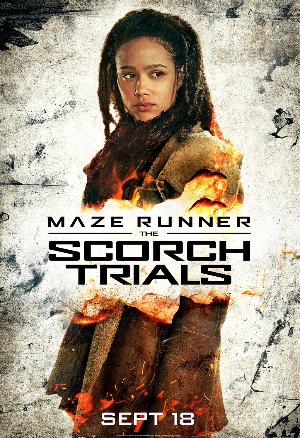Maze Runner: The Scorch Trials (Harriet)
