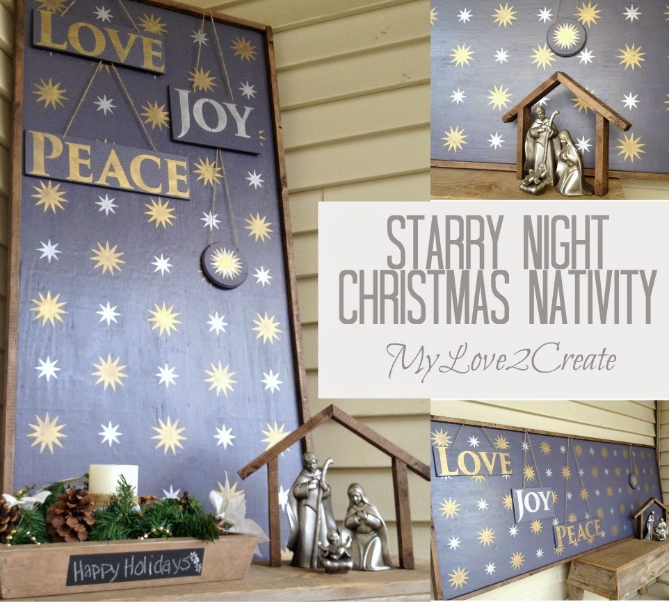 christmas-nativity starry night