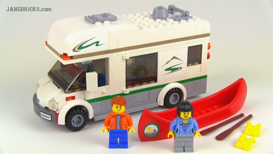 LEGO City Camper Van 60057 set Review!