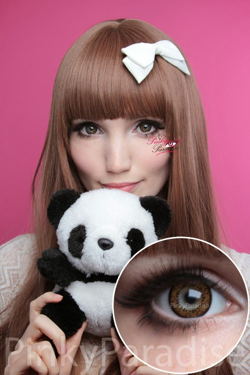 Baby Panda Brown Cosmetic Contacts