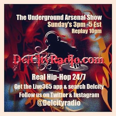 http://www.mixcloud.com/DelCityRadio/the-underground-arsenal-show-4-27-14/