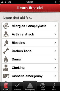 First Aid By British Red Cross App in iPhone