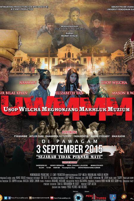 Usop Wilcha : Menghonjang Makhluk Muzium (2015) - Full Movie