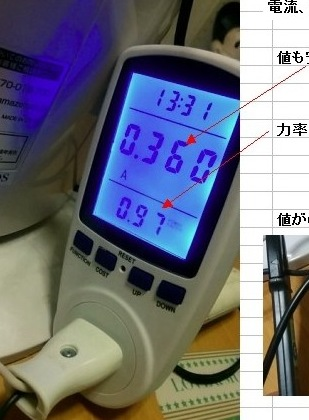 コンセントPowerMeter