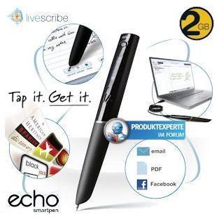 Livescribe 2GB Echo Smartpen bei iBood für 95,90 Euro