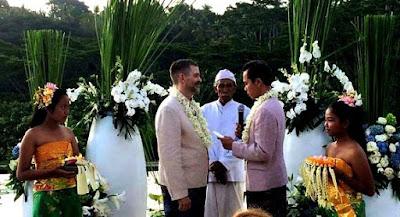 Pernikahan Homo WNI dengan Bule di Bali