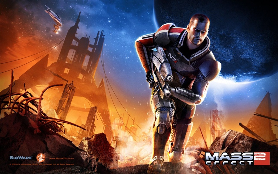 Mass Effect 2 PC Download Poster