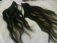 Mega hair de faixa