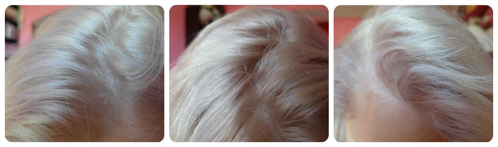 je nai pas retouch ces photos le blond est trs clair et lumineux a j1 les reflets violets sont donc bien moins prsents et ont presque tous disparu - Shampooing Apres Coloration