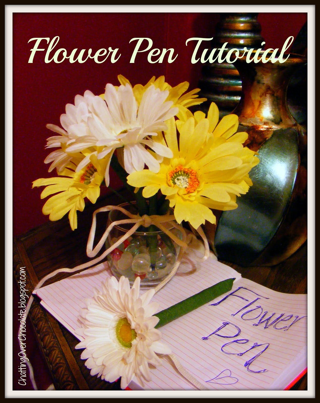 Chatting Over Chocolate: Throwback Thursday // Flower Pen Bouquet ...