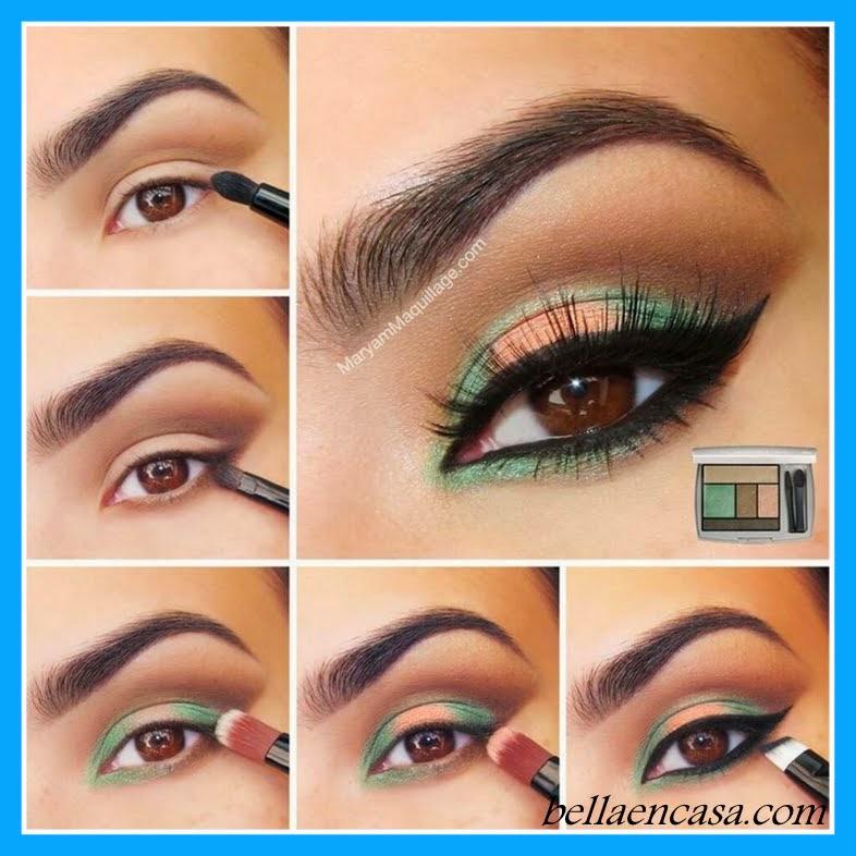 Maquillajes de ojos para fiesta paso a paso bella en casa - Como limpiar casas profesionalmente ...