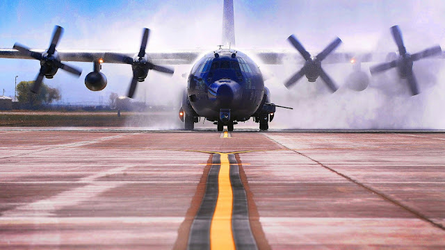 AC-130W Stinger II HD Wallpaper