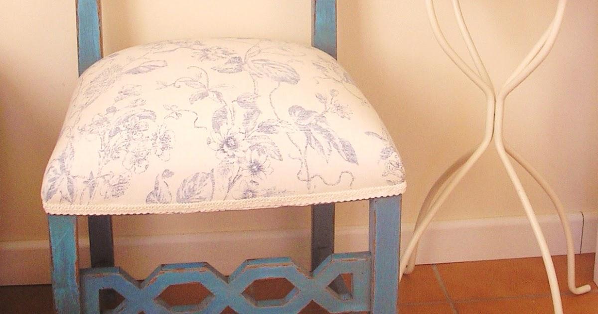 El desvan de mamen silla turquesa - Sillas turquesa ...