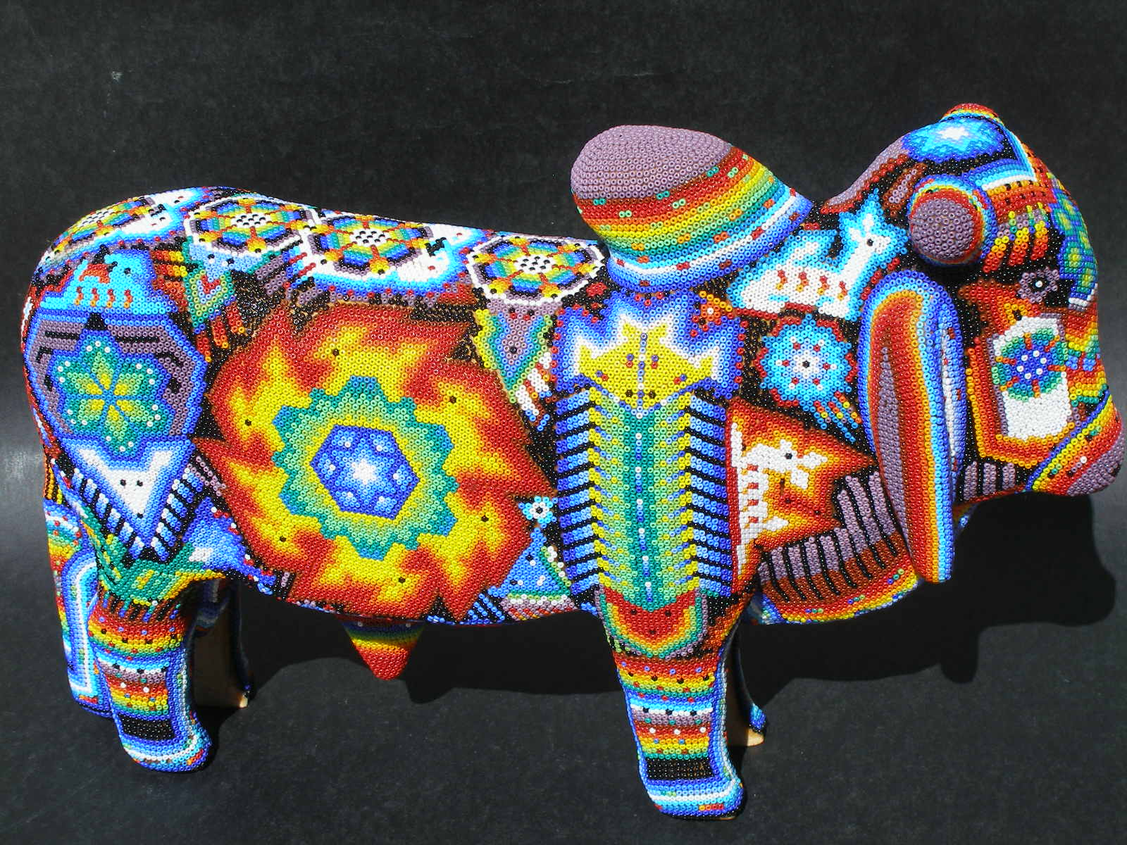 Easy crafts on a budget for kids 4 to 104 huichol arts for The art and craft