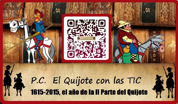 P.C El Quijote con las tics