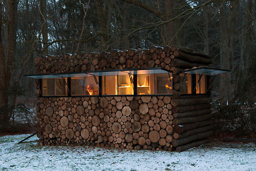 Как сделать стену в лесу