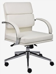 B9406 Chair in White
