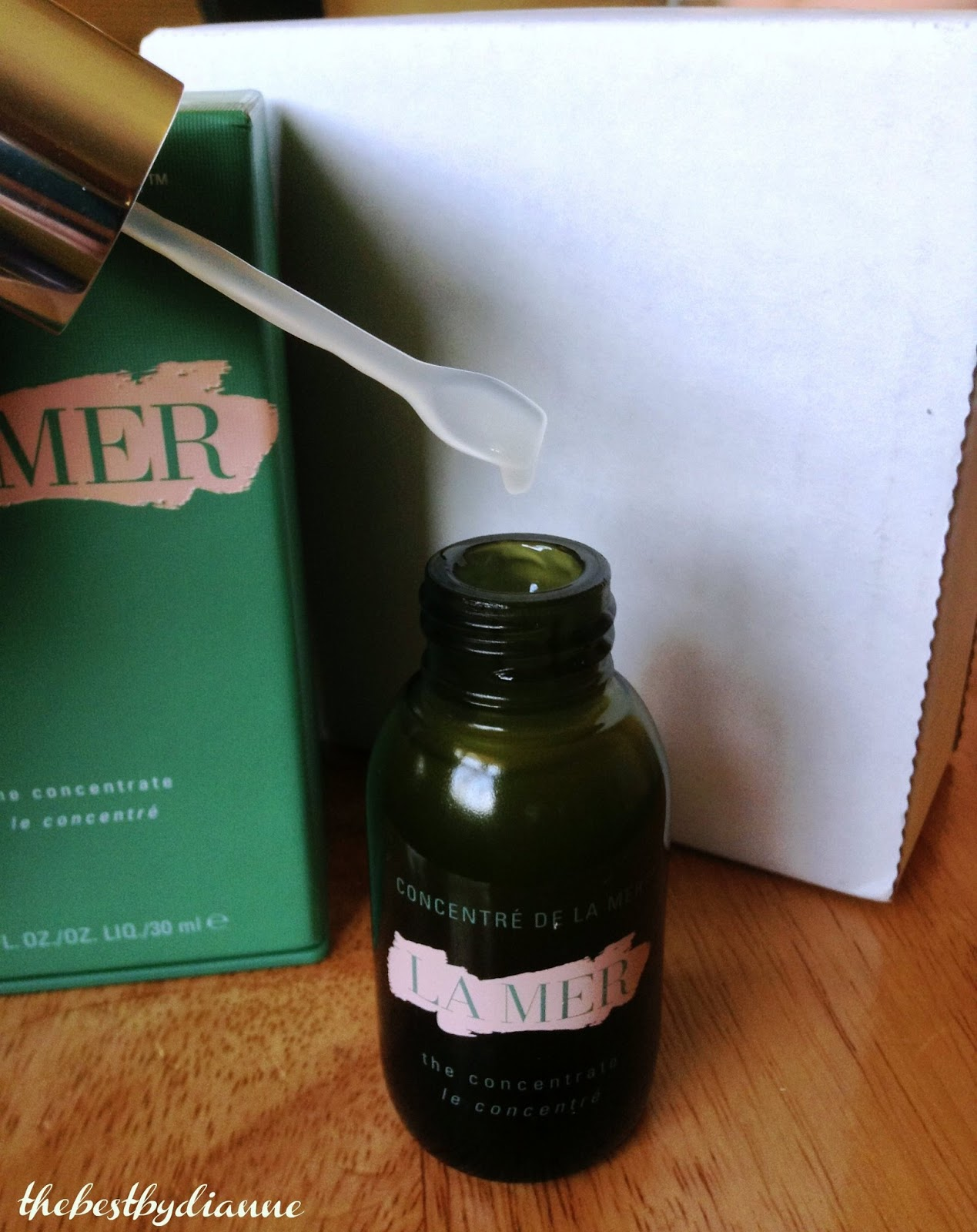 LA MER THE CONCENTRATE - My Dry Skin MIRACLE (with photos) | Only ...
