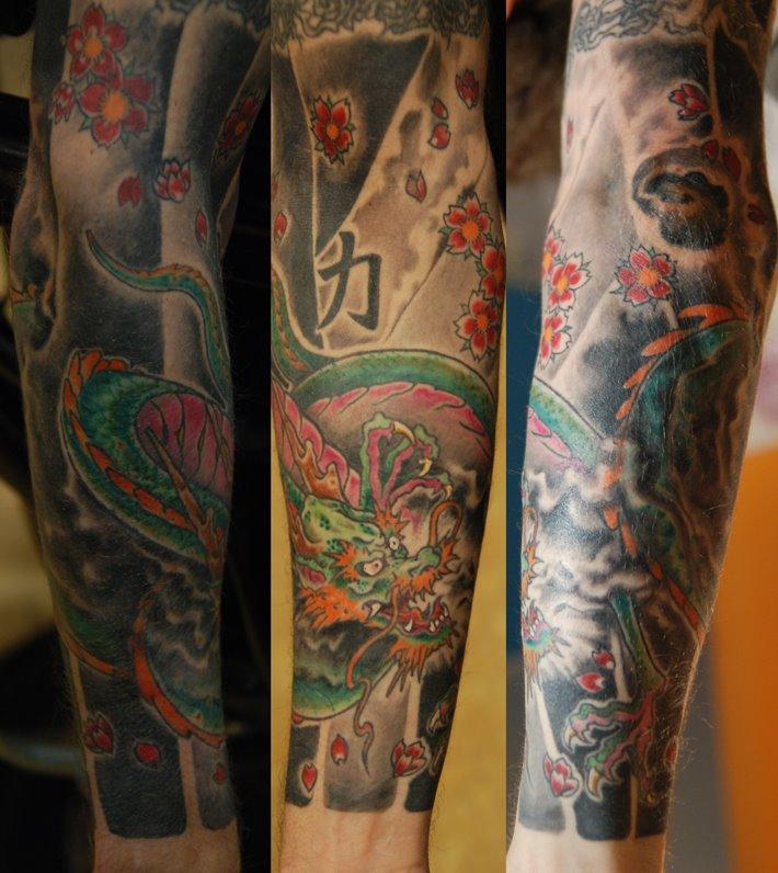 Lucky signs tattoo tattoo tatuaggi piercing sobri e seri for Disegni tradizionali giapponesi