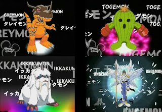Digimon Adventure Digital Monsters Champion Greymon Togemon Ikkaumon Angemon