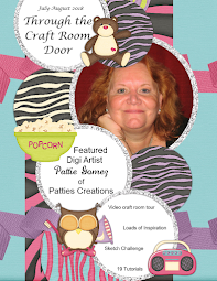 July - August  Issue of Through the Craft Room Door is available