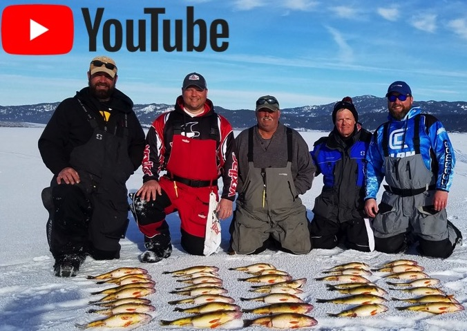 VIDEO: Lake Cascade Ice Fishing Perch