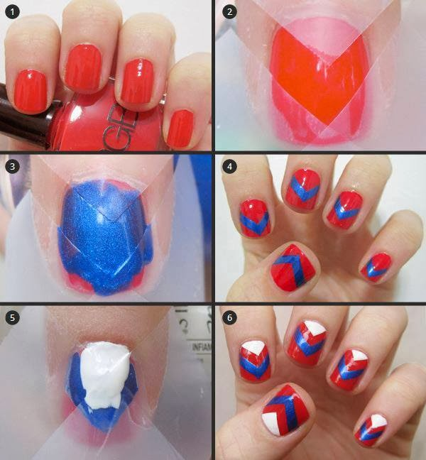 Ladies Nails Fashion Tutorials...